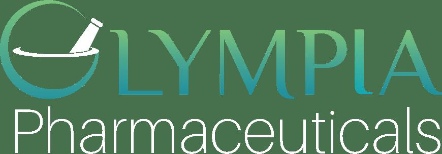 Olympia Pharmaceuticals Logo White