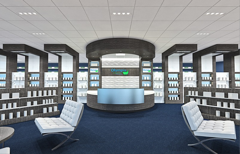 Olympia Compounding Pharmacy front desk