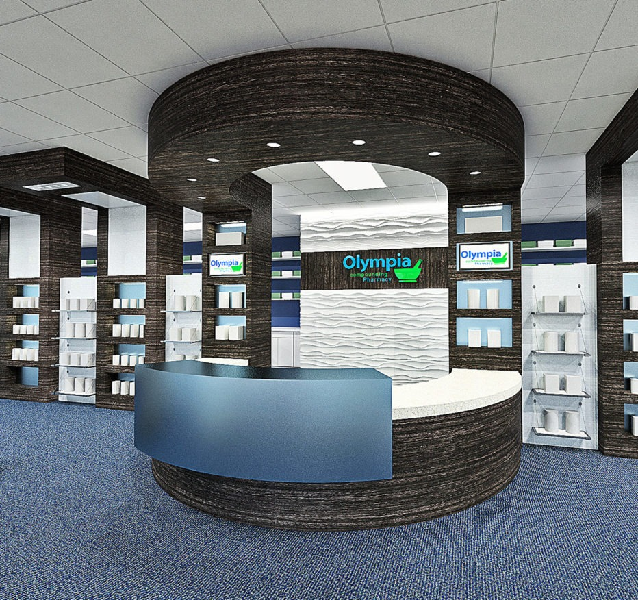Olympia Compounding Pharmacy design architecture
