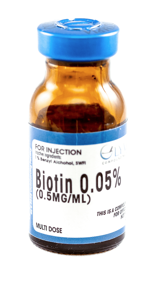 Injection Bottle of Biotin