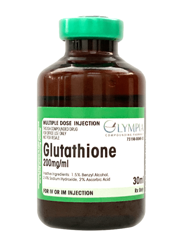 200mg/ml Glutathione vial for multiple-dose injections
