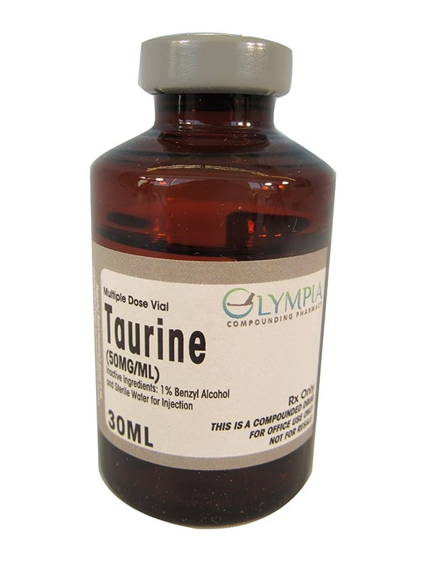 Taurine Multiple Dose Vial - 30 ML